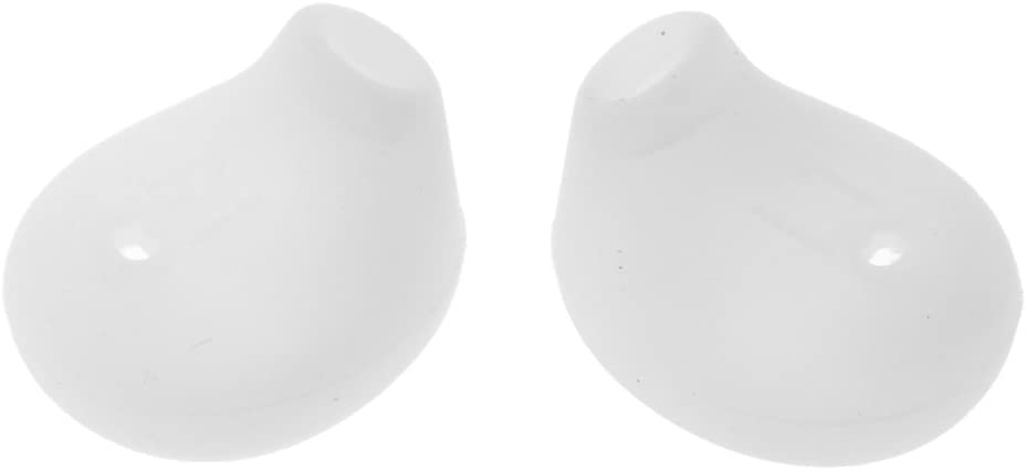 MagiDeal 2 Pairs Soft Silicone Gel Ear Covers Eartips Earbuds for Samsung Galaxy S6 Edge G9200 G9250 G9208 Headset