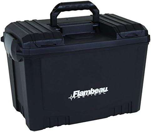 "Flambeau Outdoors 6418DT 18"" Dry Box - Black 419dRM6k0OL"