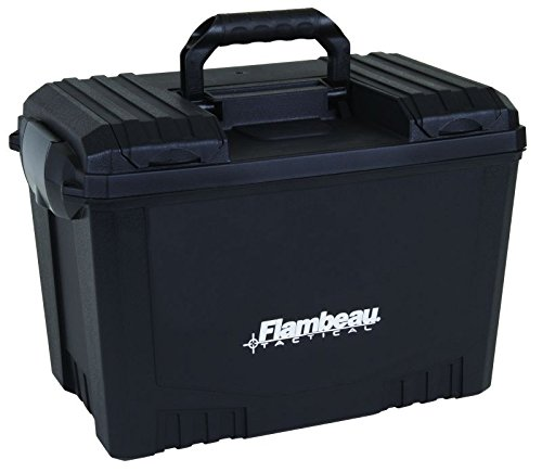 Flambeau Outdoors 6418DT Hunting Tactical Dry Box, Black - 18-Inch