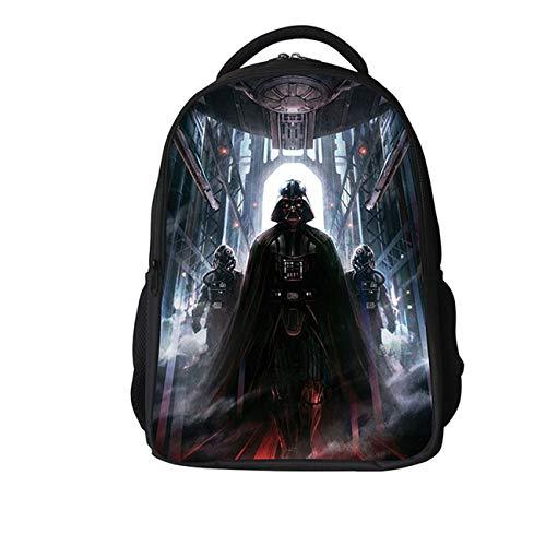 Col-92 Kids Star Wars School Backpack-Lightweight Bookbag School Backpack Travel Bag for Boys Girls -