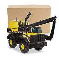 Tonka Steel Backhoe Toy Construction Vehicle, Yellow/Black
