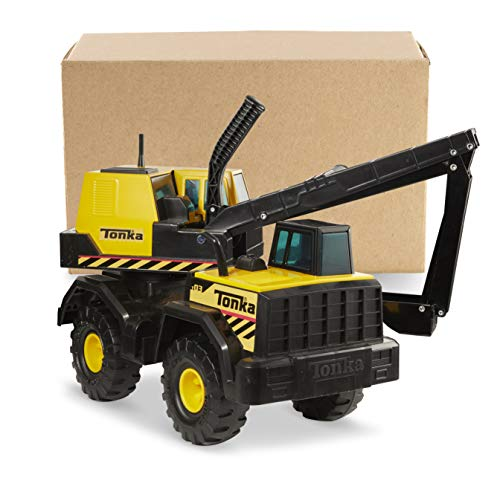 Tonka Steel Backhoe Toy Construction Vehicle, Yellow/Black for sale  Delivered anywhere in USA