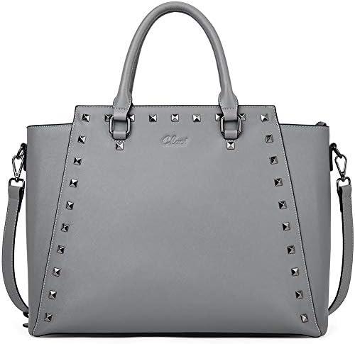 Laptop Leather Briefcase Business Shoulder