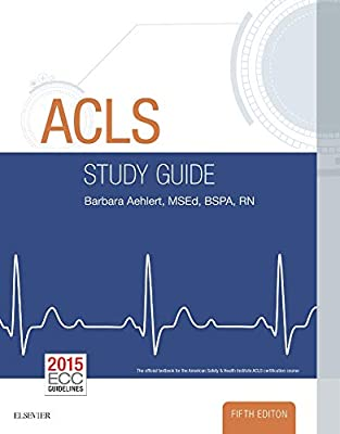 ACLS Study Guide Barbara Aehlert The Book