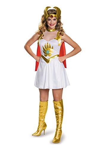 Disguise Women's She-Ra Classic Costume, Multi, (Shera Halloween Costumes)