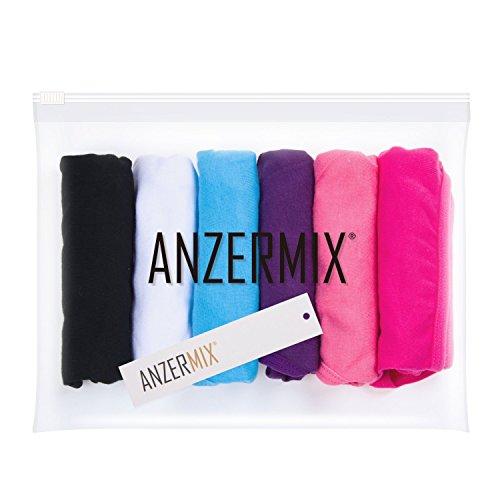2ba367f33a2a0 Jual ANZERMIX Women s Breathable Cotton Bikini Panties Pack of 6 ...