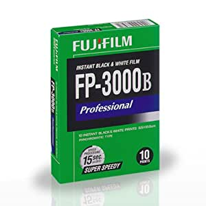 FUJIFILM FP-3000B 3.34 X 4.25 Inches Professional Instant Black and White Film