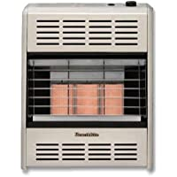 HeathRite Vent-Free Radiant Heater Natural Gas 18000 BTU, Thermostatic Control