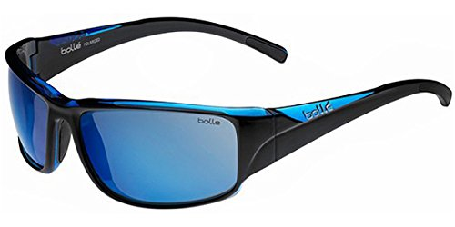 Keelback Blue Lunettes Blue Black de AR Keelback Polarized Offshore translucent Shiny soleil oloe Bollé HpwqS4xp