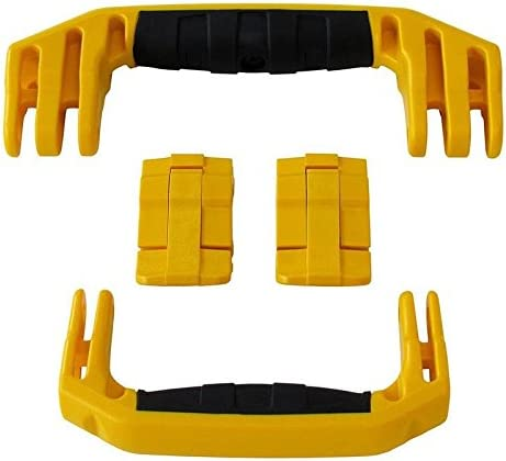 Includes 2 Yellow Handles /& 2 Yellow latches. TrekPak Divider System for The Pelican 1510 case