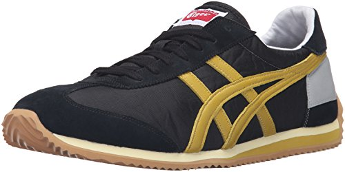 Onitsuka Tiger Men's California 78 Vin Fashion Sneaker, Black/Champagne, 12.5