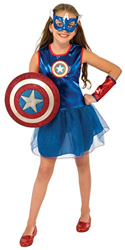 Rubie's Marvel Classic Child's American Dream Costume, Small Blue -