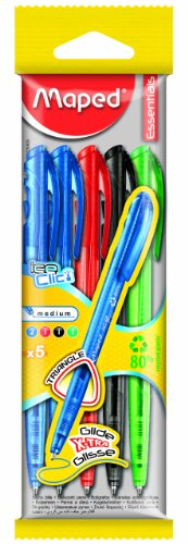 Maped Retractable Ballpoint Assorted 225305 product image