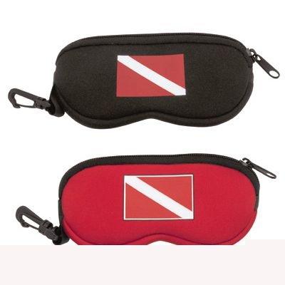 - Innovative Scuba Concepts Dive Flag Eyeglass Case Black