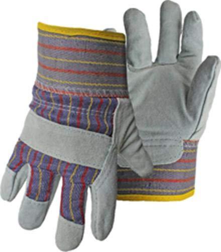Boss Gloves 4094K Split Leather Palm Gloves, White