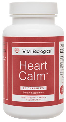 Arrêter les Palpitations cardiaques avec cœur calme-une formule tout-naturel conçu pour soutenir et maintenir un rythme cardiaque sain et arrêter rapidement les Palpitations cardiaques dans le cœur en bonne santé. 90 capsules.