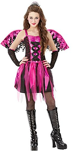 Amscan Girls Feisty Fairy Costume - Large (12-14) Brown