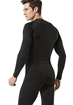 Tesla Tm-mud11-klb_medium Men's Long Sleeve T-shirt Baselayer Cool Dry Compression Top Mud11 4
