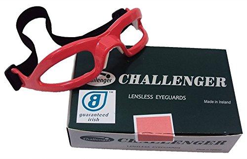 CHALLENGER Lensless Coloured Eyeguards - Pink -