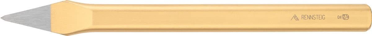 Rennsteig 320 100 1 Painted Crosscut Chisel 100 mm Gold//Red