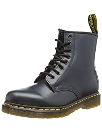 Dr Martens Unisex-Adult 1460 Navy Blue Smooth Leather Boots