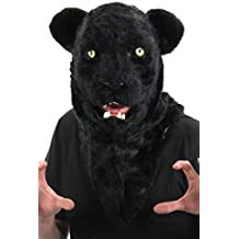 Black Panther Mouth Mover Costume Mask for Adults by elope
