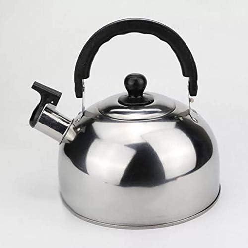 fxwl Tetera De Silbadora 3l Acero Inoxidable Whistling Hob Kettle Stove Tetera Gas Cocina Suministros