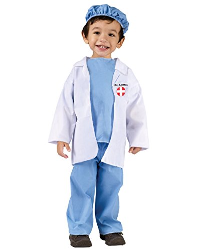 Doctor Halloween Costume For Baby (Fun World Costumes Baby's Doctor Toddler Costume, Blue/White,)