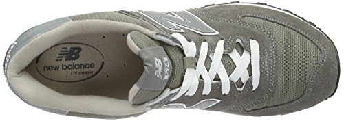 New Balance Men's 574 Classics Running Shoe Grey/Silver buy cheap factory outlet clearance latest collections classic for sale great deals cheap online k6YsN8rxJ