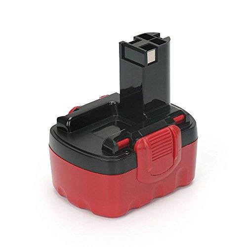 PowerGiant 14.4V 2.0Ah NiCd Replacement Battery for Bosch BAT038 BAT040 BAT140 BAT041 BAT159, 13614-2G 32614 33614 3660CK PSR 14.4VE-2 GSR 14.4 V Cordless Tools