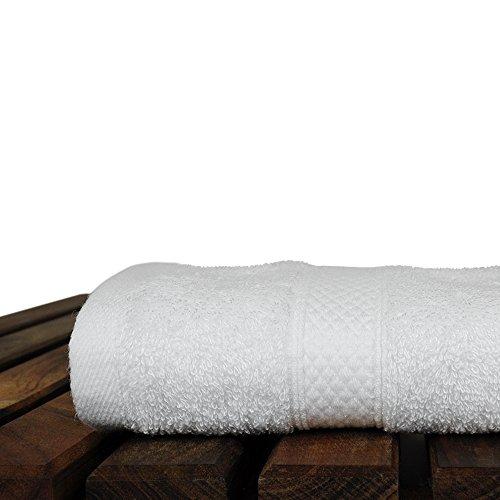 BC BARE COTTON Luxury Hotel & Spa Towel Turkish Cotton Rayon Bath (Washcloth - Set of 6, White) by BC BARE COTTON (Image #3)