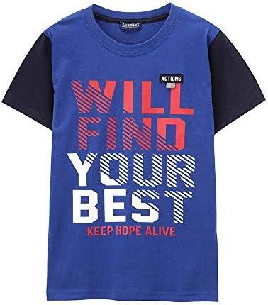 子供 男の子 Tシャツ 半袖 半袖Tシャツ ボーイズ クルーネック プリントTシャツ MH/TG740B キッズ