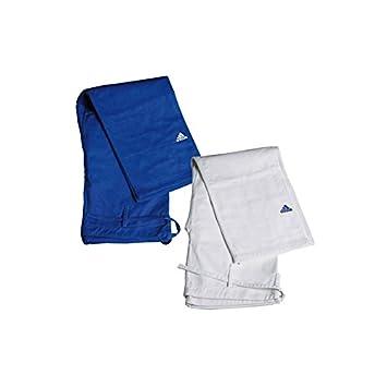 Loisirs Ou Pantalon Sports De Blanc Et Judo Adidas Bleu Fqv8ww