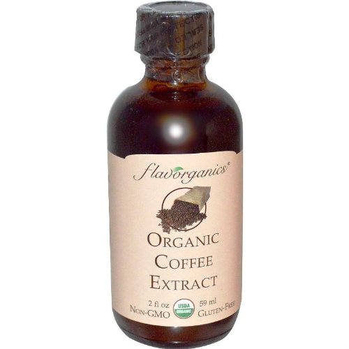 Flavorganics Organic Coffee Citation, 2-Ounce Glass Bottles (Pack of 3)