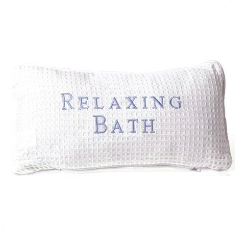 Spa sœurs luxe bain oreiller, gaufre