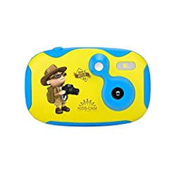 Kids Digital Camera Cute Toy Camera for Kids 1.44 Inch Screen Creative DIY Video Cam with Sticker,Cartoon child Smart Small Camera,Gifts for Kids,Pocket Size Easily Carryproduct descriptionTips and Cautions: When the children's camera is dr...