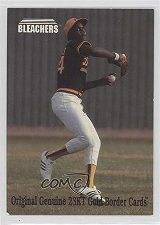 Amazoncom Barry Bonds Baseball Card 1993 Bleachers