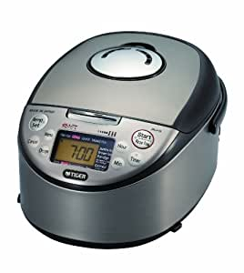 Tiger JKJ-G10U Induction Heating 5.5-Cup (Uncooked) Rice Cooker and Warmer