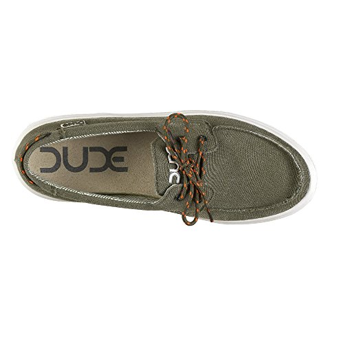 Shoe Green Deck Shoes Canvas Musk Dude Men's Kola PqHwv6vp