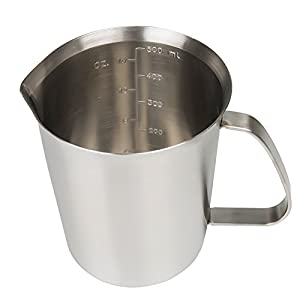 Sissiangle Stainless Steel Milk Frothing Pitcher for Milk Frother, Espresso Machines, Coffee & Latte Art by Sissiangle