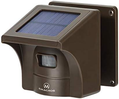 Supplemental 1 4 Mile Driveway Alarm Solar Sensor