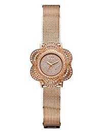 Guess Women's U0139L3 Rose-Gold Stainless-Steel Quartz Watch with Rose-Gold Dial