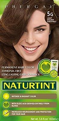 Naturtint Permanent Hair Color - 5G Light Golden Chestnut, 5.6 fl oz (6-pack)