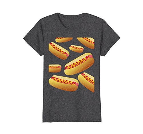 Womens Bunch Of Hot Dog Funny Halloween Costume