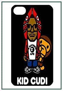 Bathing Ape Bape Monkey Cute Fun Funny Lovely Fashion Style Logo iphone 6 plus Black Designer Hard Case Cover Protector