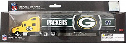Press Pass Green Bay Packers 2013 NFL Limited Edition Die-Cast 1 To 80 Tractor-Trailer (Diecast Trailer Nfl Tractor)