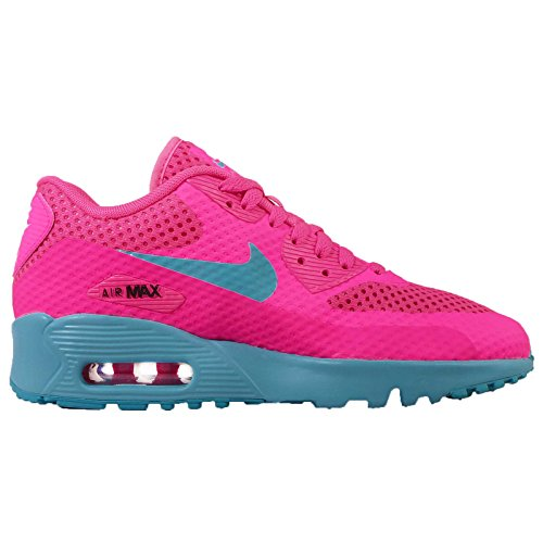 Nike Mädchen Air Max 90 BR GS Fitnessschuhe, Gelb, EU Rose