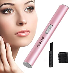 Eyebrow Trimmers, Eyebrow Hair Trimmers, Facial Hair Trimmer for Women with Pivoting Head & Eyebrow Trimming Comb for Bikini Area/ Arm/ Armpit
