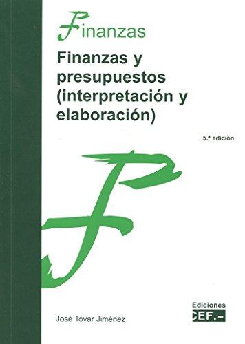 Descargar Libro Finanzas Y Presupuestos José Tovar Jiménez