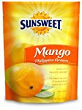 Sunsweet, Dried Fruit, Phillipine Grown Mango, 8oz Bag (Pack of 3)